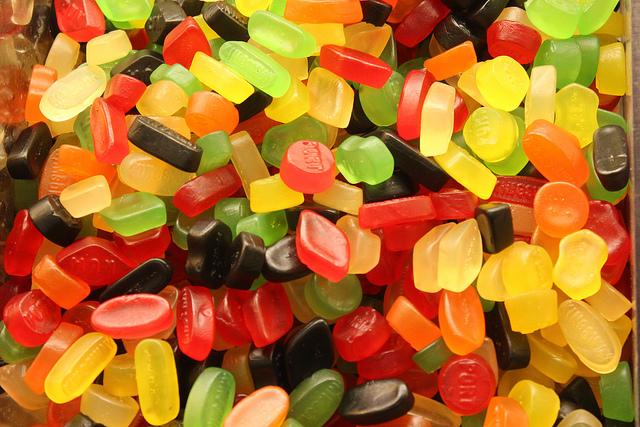 Beliebte Süßigkeiten aus Großbritannien - Englisches Weingummi